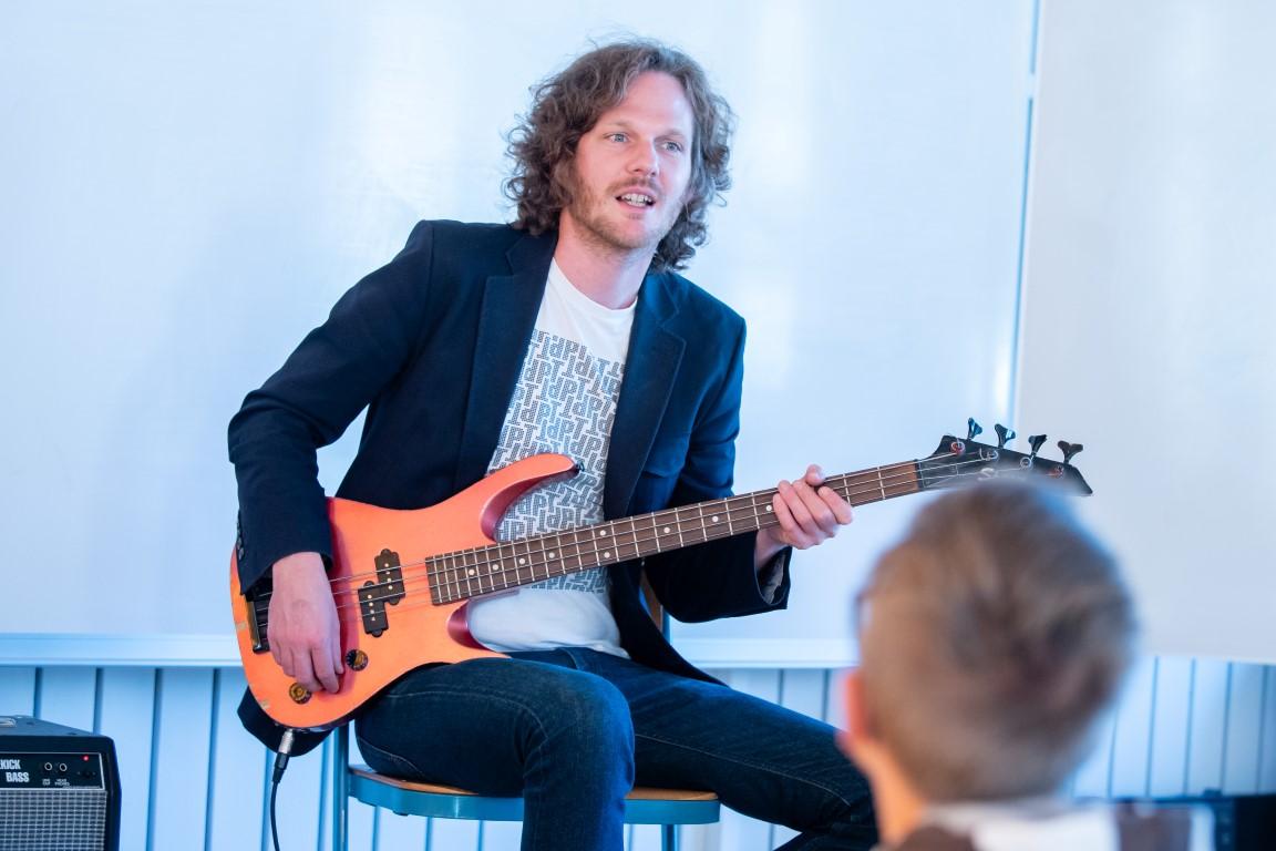 Ein Instrument lernen am Nachmittag - Stadtteilschule Lohbrügge